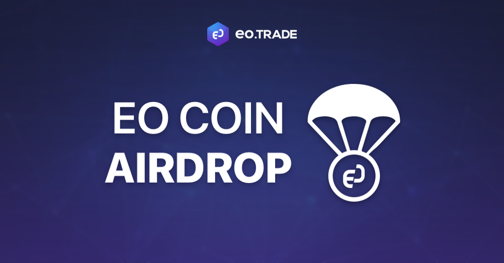 $22 million worth of EO coin airdrop holders to receive 44,862,535 EO coins