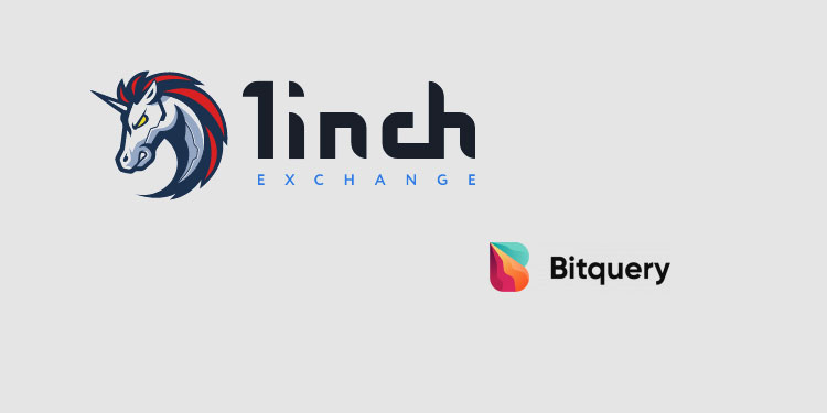 DEX aggregator 1inch integrates Bitquery's API-powered crypto trading data