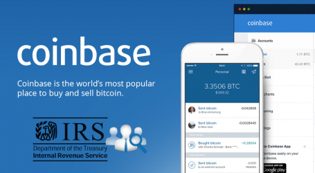 IRS wants Coinbase to provide identities of all U.S. clients
