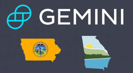 U.S. regulated cryptocurrency exchange Gemini now open in Iowa and Georgia
