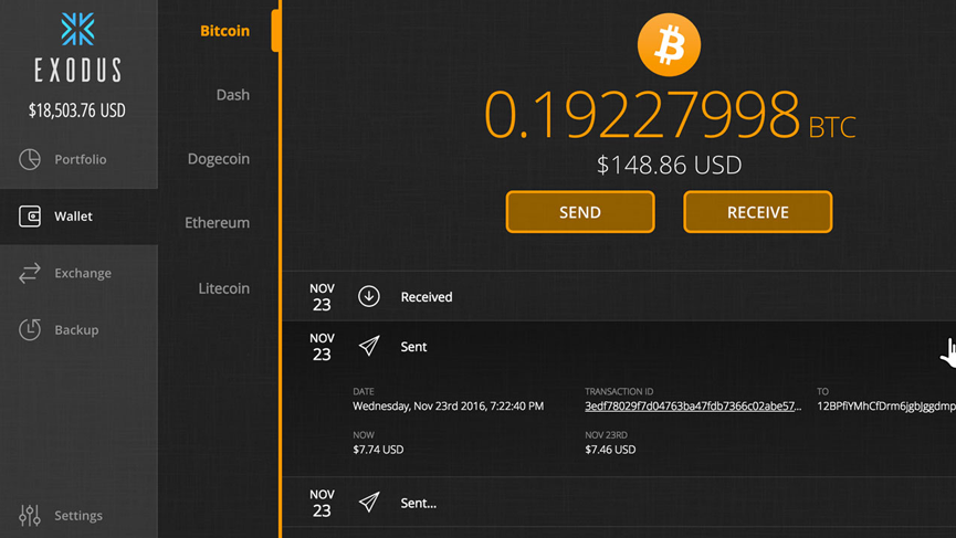 dogecoin cryptocurrency wallet