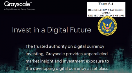 Grayscale Investments files SEC registration statement for Bitcoin Investment Trust