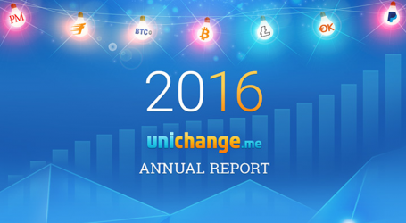 Digital currency transfer company Unichange releases 2016 overview as services expand