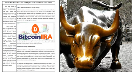 Bitcoin IRA hits $4M mark and launches 'Bitcoin Bull Watch'