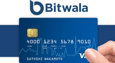 Bitwala redesigns bitcoin prepaid debit card