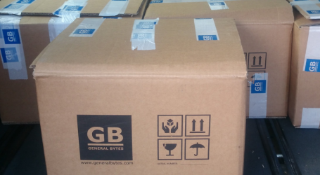 GENERAL BYTES new BATMTwo Bitcoin ATMs now shipping