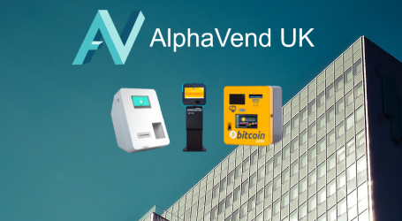 AlphaVend's new UK bitcoin ATM also supporting litecoin