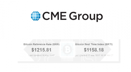 CME Group waives fees on new bitcoin price indices for 2017