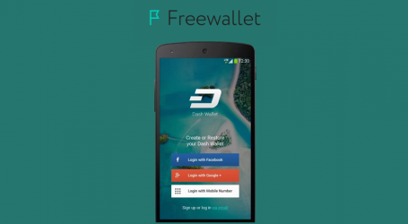 Freewallet releases Dash wallet for Android