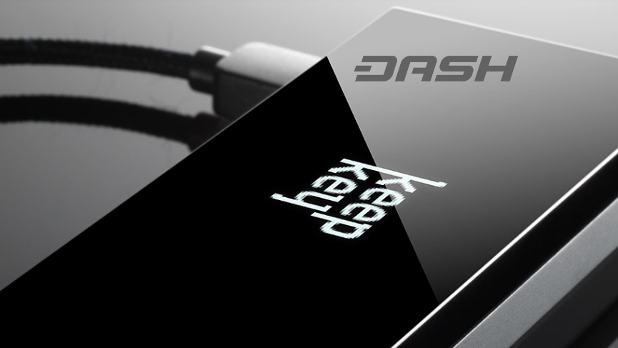 Dash now out of beta goes live on crypto hardware wallet KeepKey