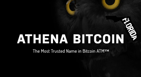 Athena Bitcoin expands in Florida with 2 new ATMs