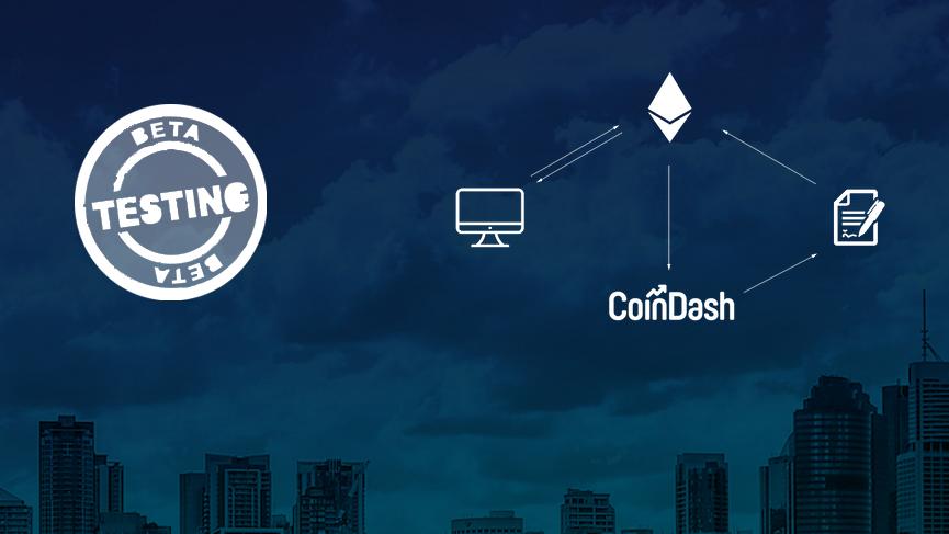 Crypto based portfolio management app CoinDash seeks beta testers