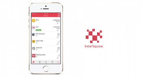 IndieSquare releases updated mobile wallet with 2 useful features