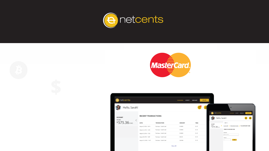 NetCents launches direct purchase of bitcoin with MasterCard
