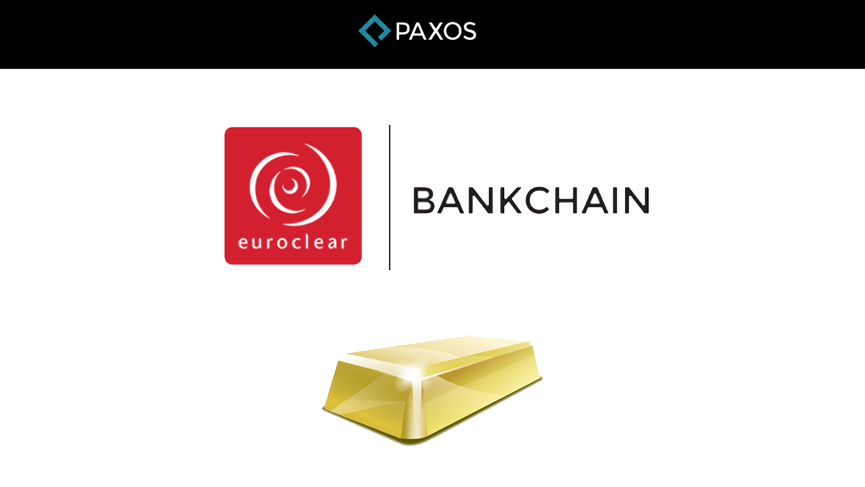 Euroclear and Paxos partner for instant gold settlement.