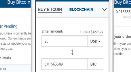 Buying bitcoin now enabled for Blockchain wallets on iOS