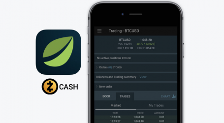 Bitfinex mobile app update adds  Zcash to iOS