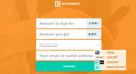 Newly launched Bitmoney.eu offers purchasing bitcoin with SOFORT, Giropay and more