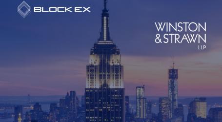 Blockex partners with Winston & Strawn LLP on its blockchain bond issuance platform