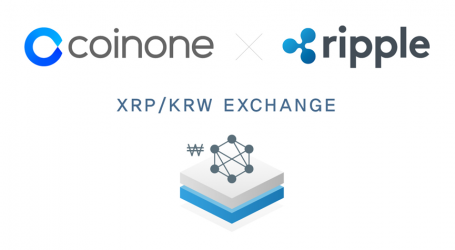 Korean bitcoin exchange Coinone announces launch of Ripple (XRP) trading