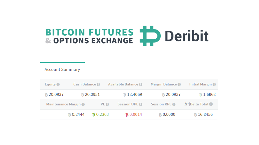 Bitcoin derivatives exchange Deribit adds daily settlement feature with P&L