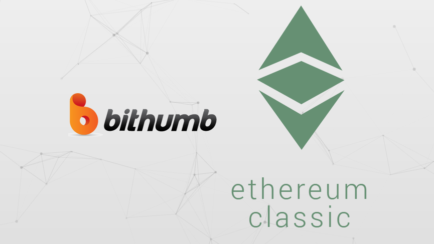 Korean exchange Bithumb announces support for Ethereum Classic ETC