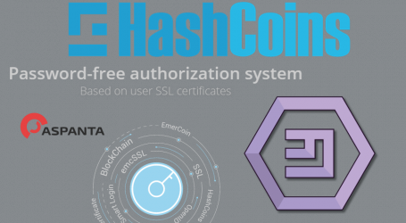 HashCoins, Aspanta, and Emercoin launch passwordless authorization system