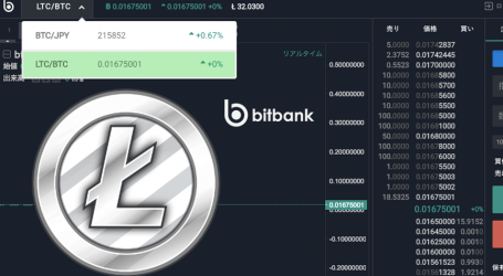 Japan's bitbank launches LTC/BTC trading, ETH and XRP on the way