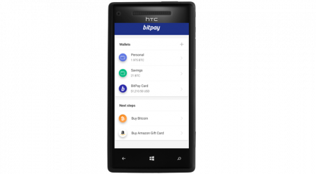 BitPay wallet app now available on Windows Phone