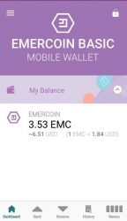 Emercoin releases iOS wallet app