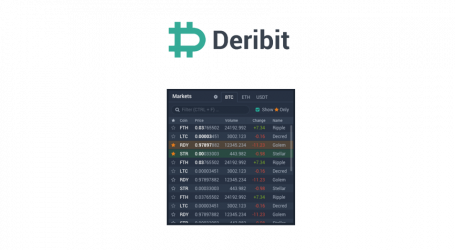 Deribit deploys portfolio margin plus set to launch altcoin exchange