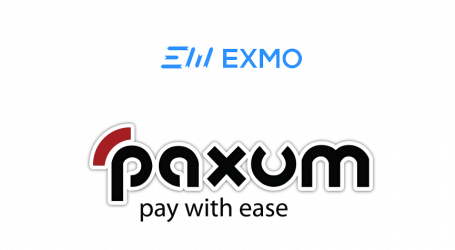 Cryptocurrency exchange EXMO integrates Paxum for USD, EUR payments