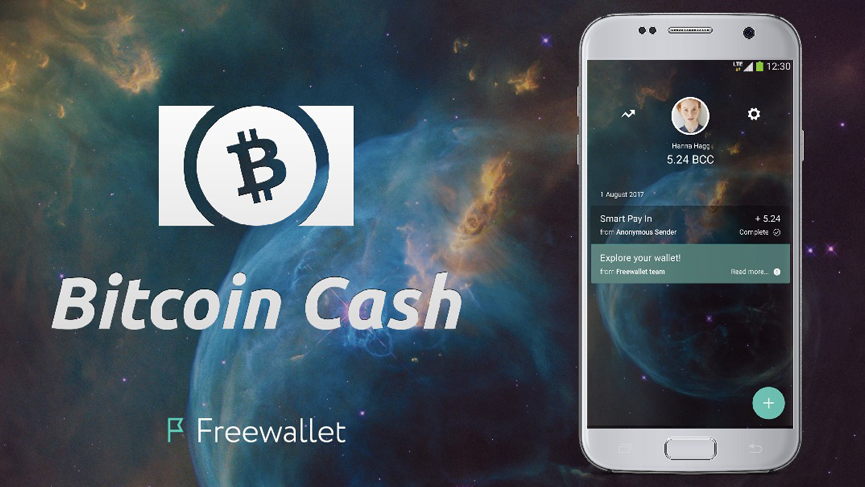 Freewallet The Developer Of Number User Friendly Crypto Wallets Has Announced That They Will Support Bitcoin Cash If A Blockchain Split Up Occurs