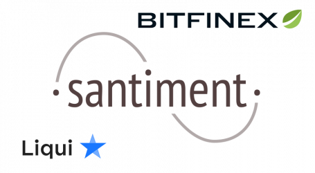 Cryptocurrency data platform Santiment gets token listed on Bitfinex and Liqui