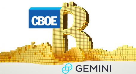CBOE and Gemini partner on exclusive license for bitcoin market data