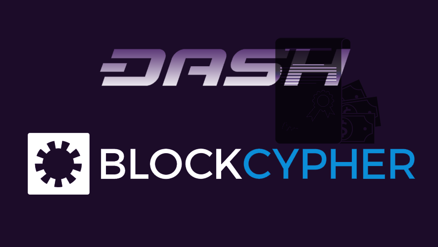 Dash and BlockCypher join forces for blockchain technology grant program