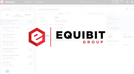 Equibit unveils first look at digital wallet for blockchain securities