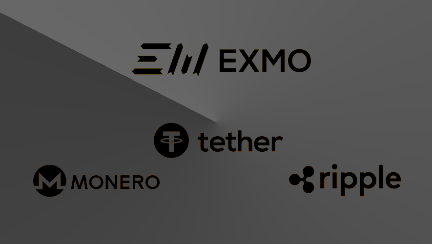 EXMO adds Ripple, Monero and USDT
