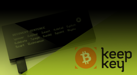 KeepKey hardware wallet releases full support for Bitcoin Cash