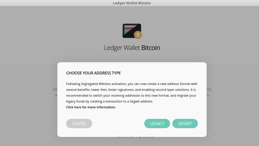 Bitcoin hardware wallet maker Ledger now supports SegWit