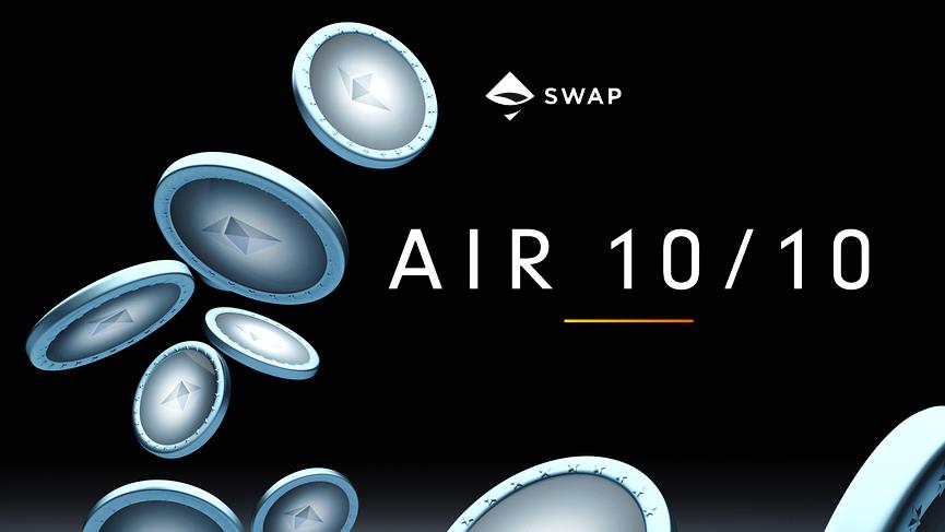 Swap protocol for decentralized ERC20 exchange announces AIRSWAP platform