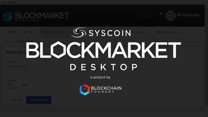 Blockchain Foundry officially launches Blockmarket Desktop v1.0