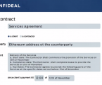 Confideal to end complicated processes of forming, signing and managing smart contracts
