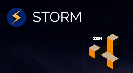 StormX establishes strategic partnership with ZenCash