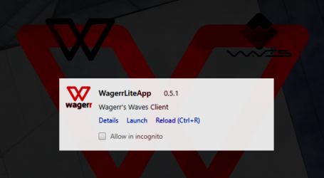 Blockchain betting platform Wagerr gets branded Waves wallet