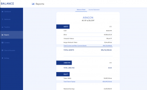 Crypto accounting app Balanc3 unveils financial statements for Gnosis, Aragon and Digix