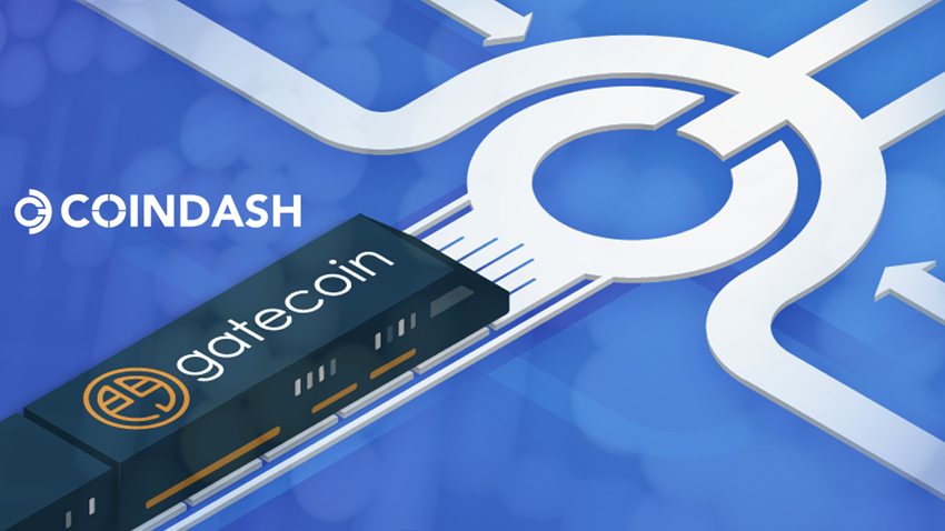 Coindash partners​ ​with​ cryptocurrency exchange ​Gatecoin