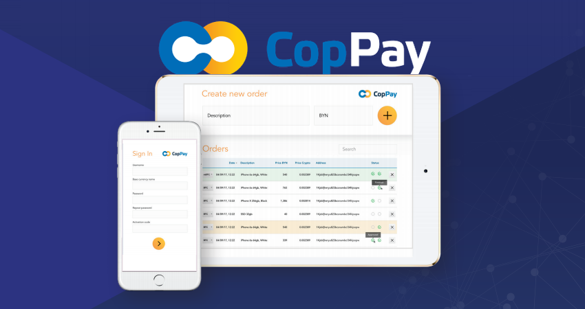 CopPay unlocks cryptocurrency for consumers & merchants worldwide