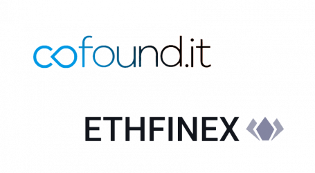 Cofound.it and Ethfinex link to promote and bring liquidity to blockchain startups