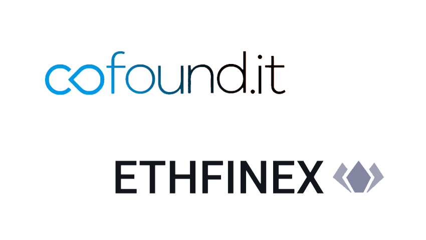 Ethfinex and Cofound.it Collaborate to Bring Trust to Blockchain Economy